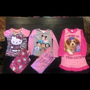 Girls pajama set - size 7/8